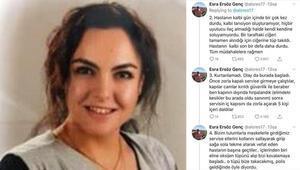 Hasta yakınları, kadın doktoru oksijen tüpüyle kovalayıp, yaraladı