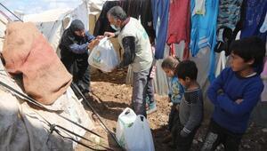 Suriyedeki ihtiyaç sahiplerine yardım