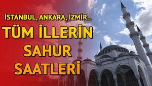 Sahur saat kaçta, ne zaman 28 Nisan İstanbul, Ankara, İzmir sahur vakitleri: İl il Ramazan İmsakiyesi sahur saatleri 2020