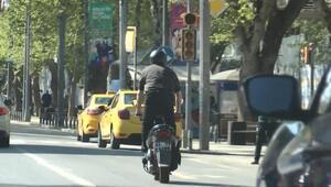 Bağdat Caddesinde isyan ettiren sürücü