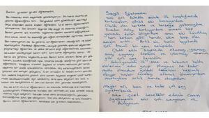 10 bini aşkın öğrenciden öğretmenlerine mektup