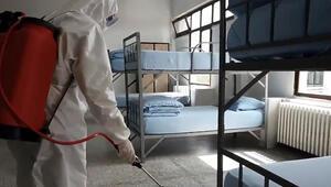 MSB: Kışlalarda sık sık dezenfekte işlemleri gerçekleştiriliyor