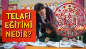 Telafi eğitimi nedir Telafi eğitimi ne zaman yapılacak Yazın telafi eğitimi yapılacak mı