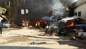 Son dakika haberler... Afrinde hain saldırı Hatay Valiliği: Bombalı aracı getiren şüpheli yakalandı