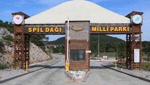 Ziyarete kapatılan Spil Dağında sessizlik