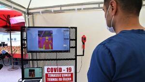 Tokatta pazar yerlerinde koronavirüs tedbirleri kontrolü
