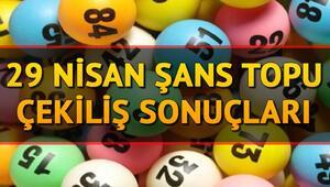 29 Nisan Şans Topu sonuç sorgulama ekranı- Şans Topu çekiliş sonuçları ilan edildi ( Büyük ikramiye devretti)