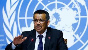 Dünya Sağlık Örgütü Direktörü Ghebreyesus: Hızlı ve kararlı şekilde uyardık