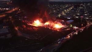 İSTOÇ Tesisindeki korkutan yangın söndürüldü