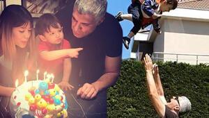 Kuzey 2 yaşında... Özcan Denizden oğluna doğum günü mesajı