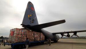 Son dakika haberler: Türkiyeden ABDye tıbbi yardım götüren ikinci uçak Ankaradan hareket etti