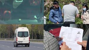 DHA ekibi adım adım görüntüledi Otogarda sahte seyahat belgesi pazarlığı