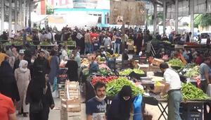 Şanlıurfa'da 3 günlük yasak öncesi alışveriş yoğunluğu