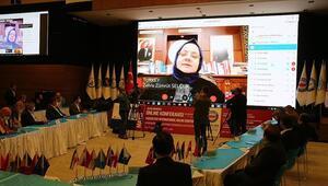 Bakan Selçuk, 1 Mayıs Uluslararası Online Konferansında konuştu