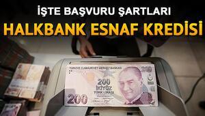Esnaf destek paketi başvurusu nasıl yapılır Halkbank 25 bin TL esnaf destek kredisi başvuru şartları nelerdir