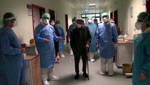 101 yaşında koronaya yakalandı, 10 günde iyileşti