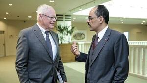 Cumhurbaşkanı Sözcüsü İbrahim Kalın, Jeffrey ve Satterfield ile Suriye'yi konuştu