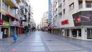 İzmirde sessiz 1 Mayıs