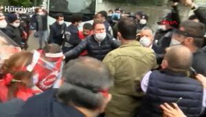 DİSK önünden Taksime yürümek isteyen gruba gözaltı