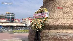 Sendikalardan Taksimde 1 Mayıs anması