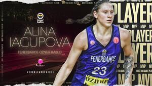 Yılın en değerli oyuncusu Fenerbahçeli Alina Iagupova