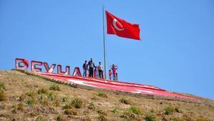 Zeytin Dalı Harekatı'nda sembol olmuştu: Bayrak Tepe'ye bakım yapıldı