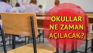 Okullar ne zaman açılacak, yazın telafi eğitimi olacak mı 2020 Haziranda okullar açılacak mı