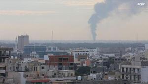 Son dakika... Libyada Hafterden kanlı saldırı
