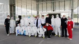 Pandemi hastanesinin gizli kahramanları