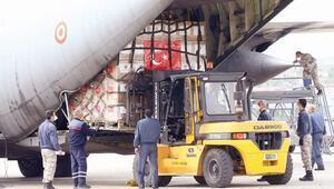 ABD'ye Türk yardımı manşetlerde