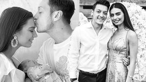 Mesut Özilden Amineye doğum günü mesajı: İyi ki doğmuşsun hayatımın aşkı