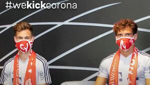 Bayern Münih kulüp logosunun basıldığı 100 bin corona virüs maskesi sattı