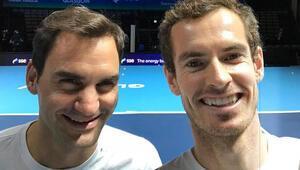Andy Murrayden Roger Federere destek