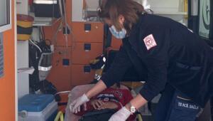 10 yaşındaki kalp hastası tedavi için İdlibden Türkiyeye getirildi