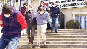 Pandemi soyguncuları yakalandı