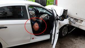 Kaza yapan alkollü sürücü şaşırttı: Sokağa çıkmak yasak mıydı