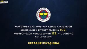 Fenerbahçeden yıl dönümü paylaşımı