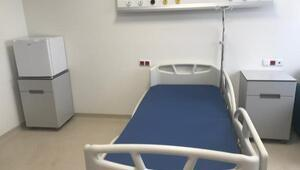 Sancaktepedeki hastanenin odaları görüntülendi