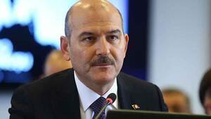 Bakan Soylu, PKKlı teröristlerin oğlunu kaçırdığı Salih Gökçe ile görüştü