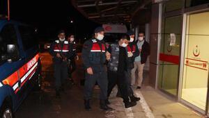 2si cezaevi firarisi 3 kişi aynı evde yakalandı