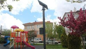 Akyurt'ta parklara kamera takılıyor