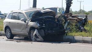 Feci kaza Cip ile otomobil çarpıştı: 1 ölü, 1 yaralı