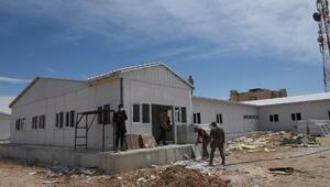 Telabyad'ta yeni kamu binaları inşa ediliyor