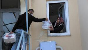 Sivasta iftar yemekleri evlere taşınıyor