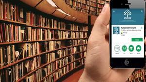 Kütüphanem Cepte E-Kitap uygulaması ile sesli kitaplaraerişilebilecek