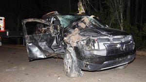 Amasyada otomobil yayaya çarptı: 1 ölü, 1 yaralı