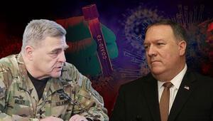 ABD Genelkurmay Bakanı, Kovid-19 konusunda Pompeo ile çelişti