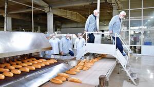 Halk Ekmek Fabrikası'nı komisyon denetledi