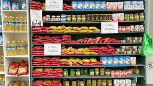 YTB'den 'Sadaka Dolabı'na 3 ton gıda desteği