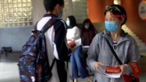 Salgının başladığı Çinin Vuhan kentinde okullar açıldı